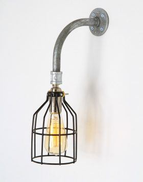 Flounce Steampunk Wall Sconce
